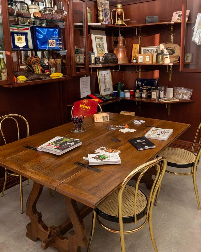 storia della torrefazione trinci caffe